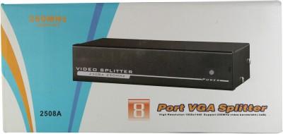 Smart Power 8 Port VGA Splitter - 250 Mhz Media Streaming Device