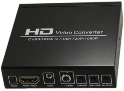 Smart Power NTSC to PAL, High Definition Video Converter Media Streaming Device