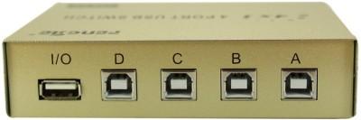 Smart Power 4 Port Manual USB Switch Media Streaming Device