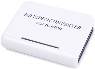 Microware HD Video Converter VGA to HDMI Media Streaming Device