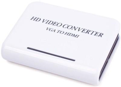 Microware HD Video Converter VGA to HDMI Media Streaming Device