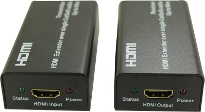 Smart Power 60 Meter HDMI Extender Over Cat 5e/6 Media Streaming Device