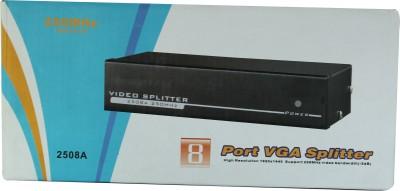 Smart Power 8 Port VGA Splitter0 - 250 Mhz Media Streaming Device