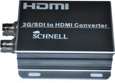 Schnell 3g/sdi To Hdmi Converter Media Streaming Device