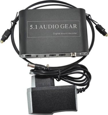 Smart Power 5.1 Analog to Digital Converter Media Streaming Device
