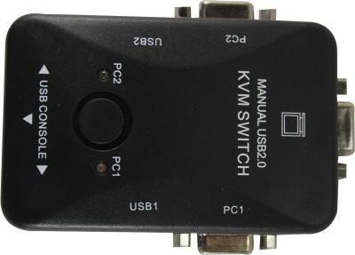 Smart Power 2 Port Manual KVM Switch Media Streaming Device