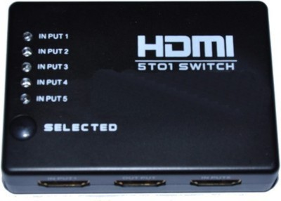 Microware HDMI5x1 Media Streaming Device(Black)