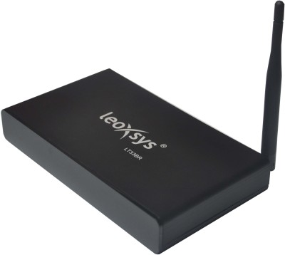 Leoxsys Lt33br Android Hdmi Smart Tv Box Quad Core 1gb Ram 8gb Storage Bluetooth Kitkat4.4 Selector Box (Black)
