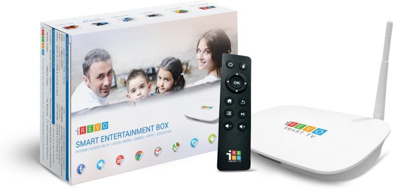 iRevo Smart TV - Android With IR Remote Media Streaming...