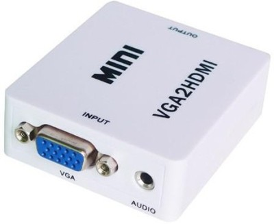 AVB Mini VGA Audio to HDMI 1080P Converter Adapter Media Streaming Device