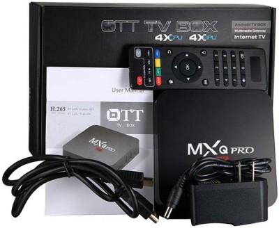 MXQ PRO 1GB RAM 8GB ROM Android TV Box Media Streaming Device(Black)
