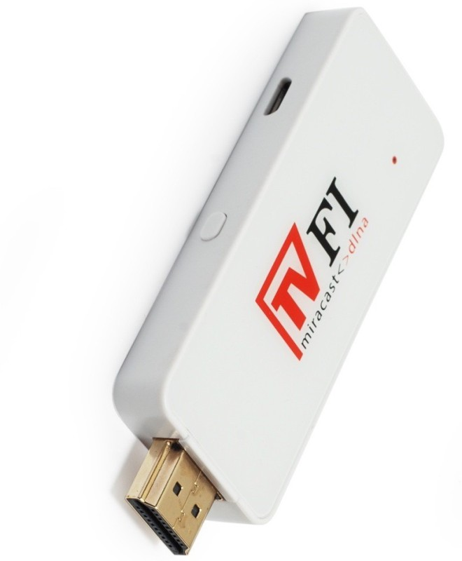 Novasys TvFi Miracast Media Streaming Device(White)