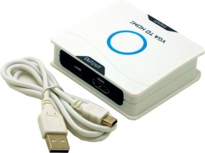 RoQ High Definition VGA + Audio To HDMI TV HD Video Signal Converter Media Streaming Device