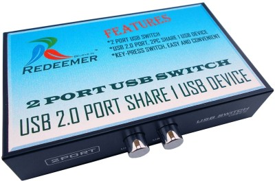 Redeemer 2 Port Usb Printer Switch Media Streaming Device