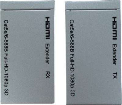 Smart Power HDMI Extender using CAT Cables - 60m Media Streaming Device