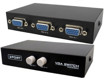PagKis 2 Port VGA Switch Media Streaming Device