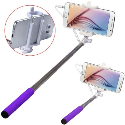 Bainsons Mini Monopod Foldable Aux Wire Selfie Stick
