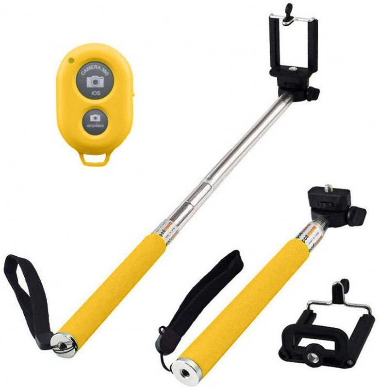 Acromax Selfie Stick with Bluetooth Remote for Samsung Galaxy S6 Monopod