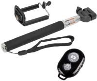 Speed Bluetooth Selfie Stick(Black, Remote Included)