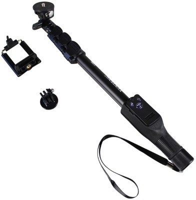 Axcess 1288 Self-portrait Monopod with Bluetooth Remote for Camera and iPhone, Smartphones Shutter Selfie Stick