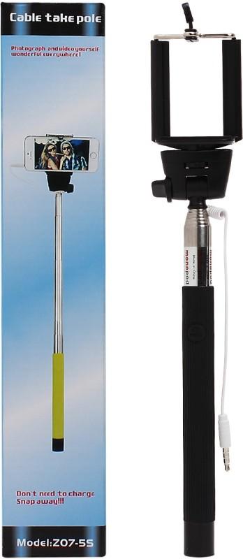 Rocciaindiano BLACK STK Selfie Stick(Black)