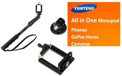 yunteng yt 188 selfie stick flipkart price accessories deals at flipkart yunteng yt 188 selfie. Black Bedroom Furniture Sets. Home Design Ideas