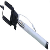shopworms Cable Selfie Stick(White)