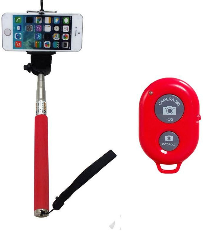 Flipkart - Selfie Sticks With Bluetooth Remote Just at Rs. 299