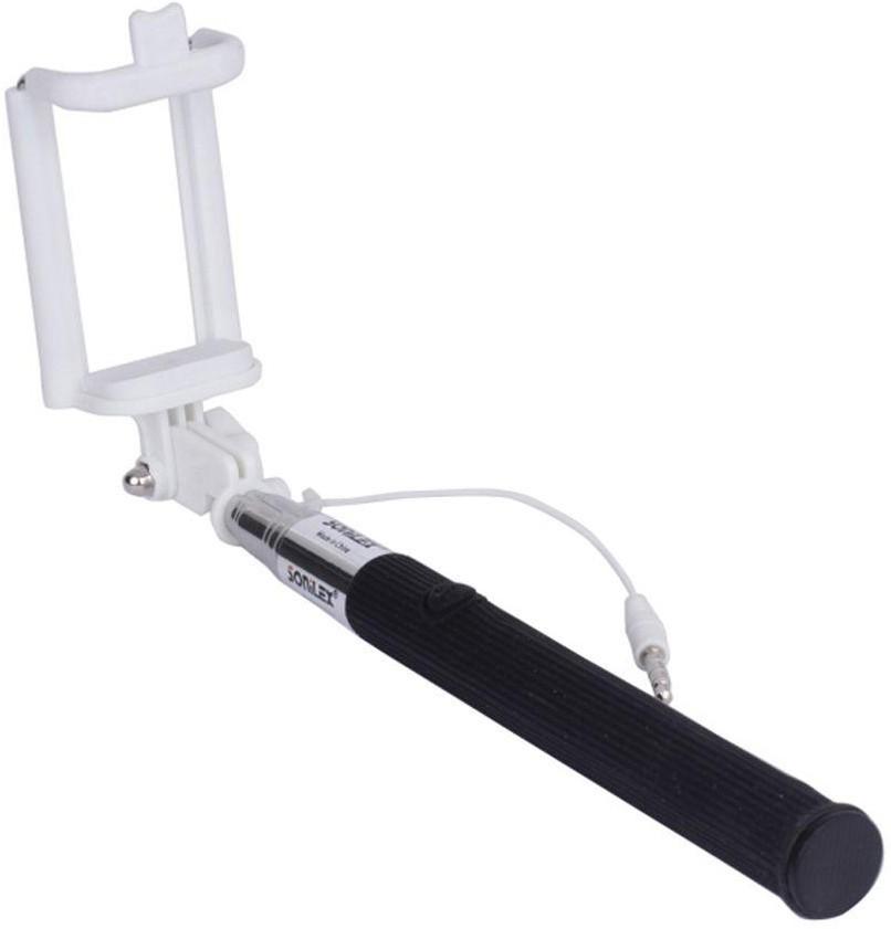 Trost Cable Selfie Stick(Black)