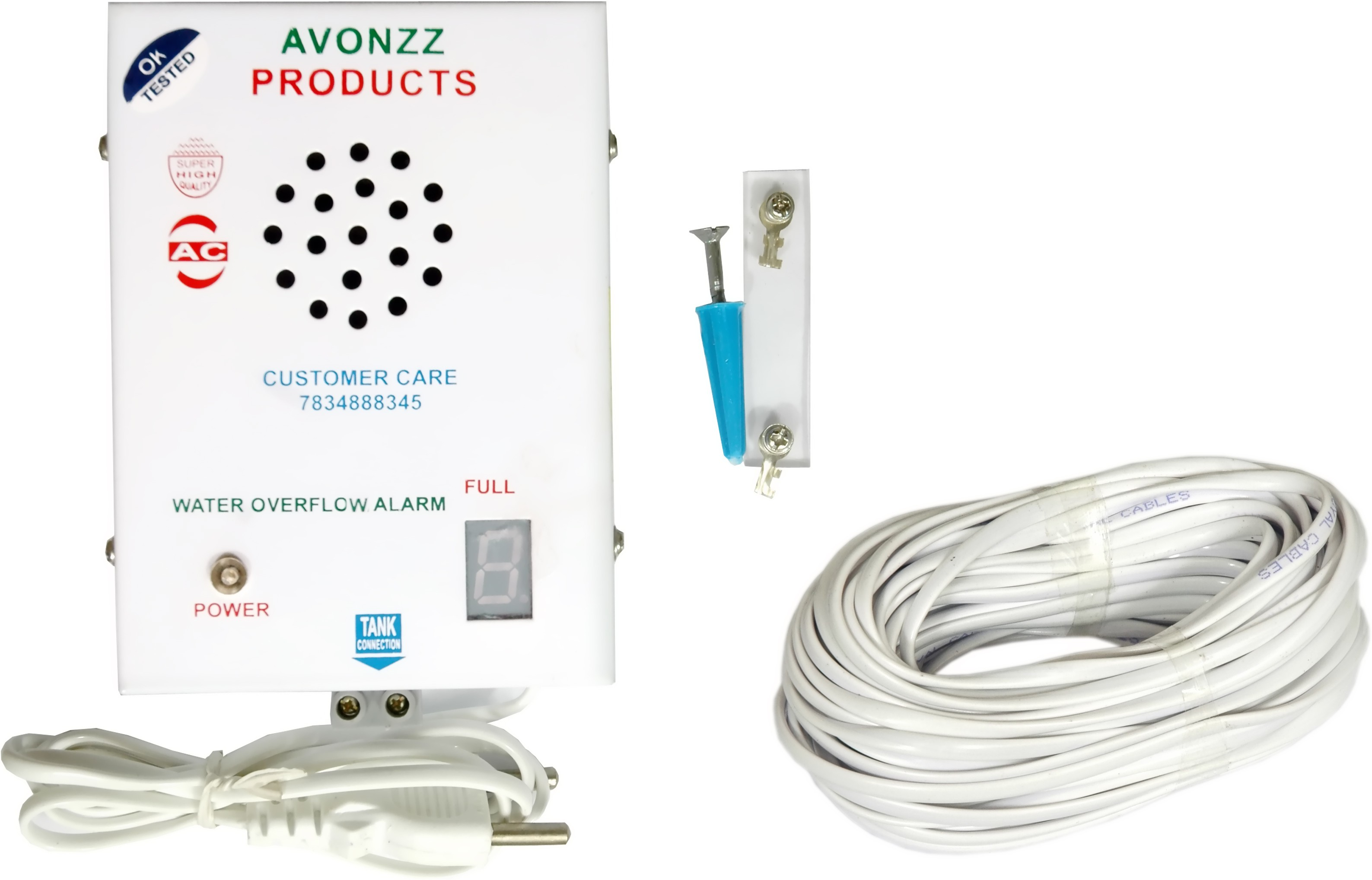 Avonzz AC-01 Wired Sensor Security System class=