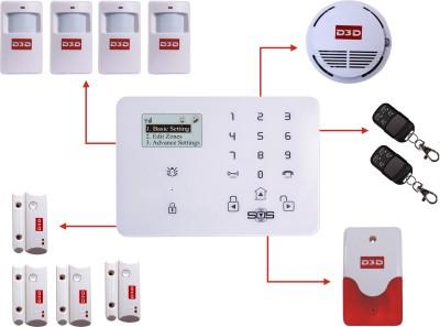 D3D D9_4PIR MOTION SENSOR_4DOOR SENSOR_1FIRE SENSOR Wireless Sensor Security System