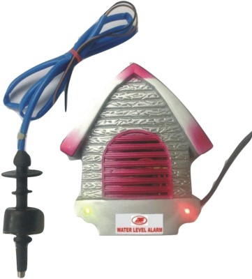 ACMEELECTRONICS WATER HIGH LEVEL ALARM & INDICATOR (MAINS OPERATED) with FLOAT SENSOR Wired Sensor Security System