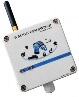 Walnut Innovations GSM Switch 2 Relay Control Wireless Sensor Security System