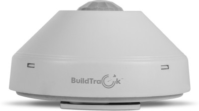 BuildTrack Motion Detector PIR Sensor with Automatic On Off Ceiling Mount Wired Security System Wired Sensor Security System