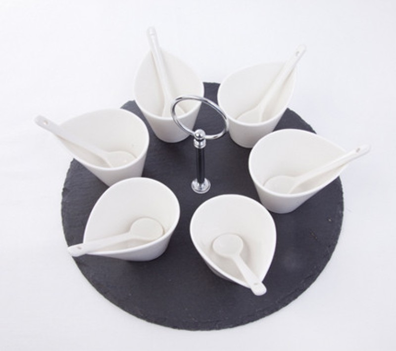 Masterkitchen Plate Bowl Serving Set(Pack of 6)