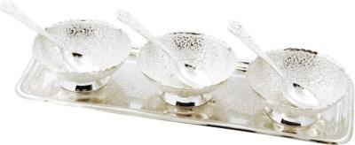 Ojas Dryfruit Serving Set Bowl Spoon Plate Ladle Serving Set