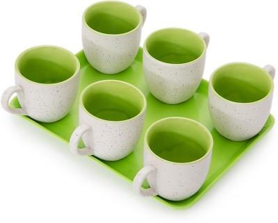 Somny Regular Tea Cups 005 Cup Tray Serving Set