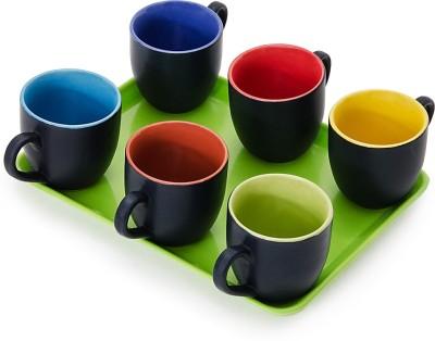 Somny Regular Tea Cups 003 Cup Tray Serving Set