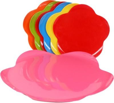 Purpledip Designer Plate Bowl Serving Set