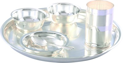 Ojas Bowl Spoon Plate Ladle Serving Set(Pack of 6)