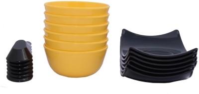 Aarzool Bowl Spoon Plate Ladle Serving Set