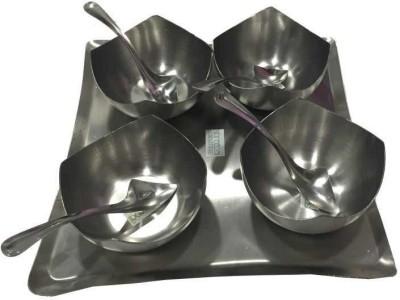 Newgenn India Bowl Spoon Tray Serving Set