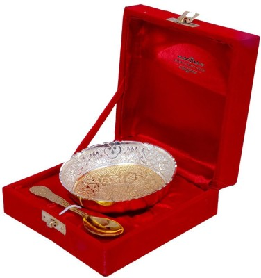 Indian Craft villa Bowl Spoon Serving Set(Pack of 2) at flipkart