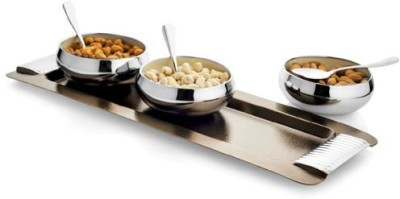 Exciting Lives Snack Tray Bowl Spoon Tray Serving Set