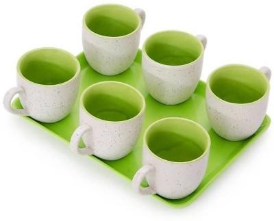 Somny Regular Tea Cups Cup Tray Serving Set