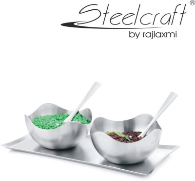 Steelcraft Bowl Spoon Tray Serving Set