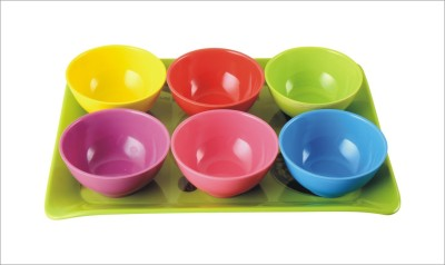 Recon 6pc Serving Bowls with Tray Bowl Tray Serving Set
