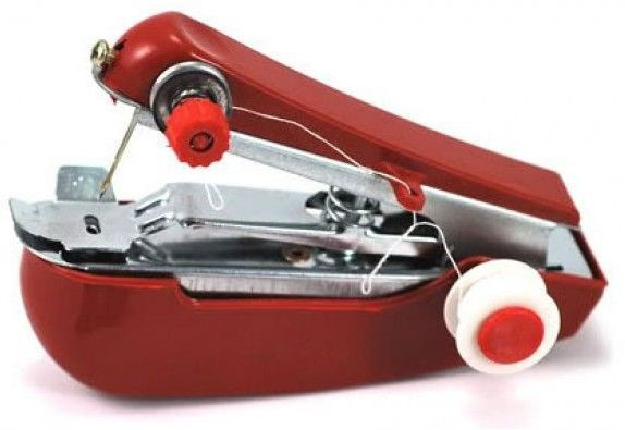 Shop Street Mini Stapler Manual Sewing Machine( Built-in Stitches 45)