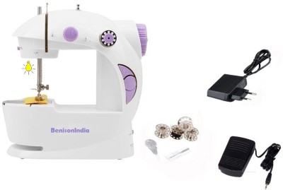 Benison India Portable 4 in 1 mini Electric Sewing Machine( Built-in Stitches 45)