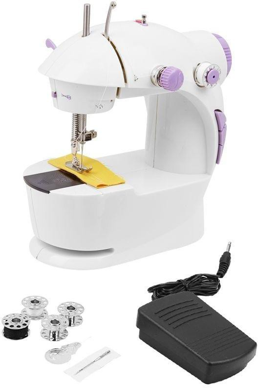 Swarish Portable Mini 4 In 1 Electric Sewing Machine( Built-in Stitches 1)